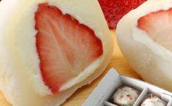 和楽の生クリームいちごは大福?アイス?そして口コミは?賞味期限・値段と通販は!